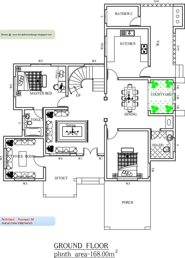 August Kerala Home Design And Floor Plans House Style Single Plan