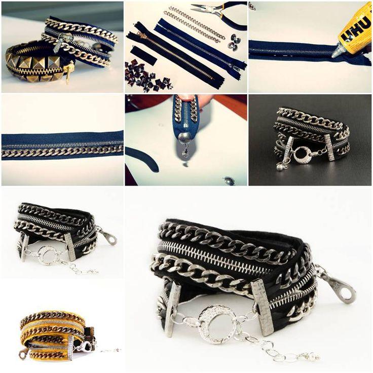 How to make Stylish Bracelet step by step DIY tutorial instructions, How to, how to make, step by step, picture tutorials, diy instructions, craft, do it yourself
