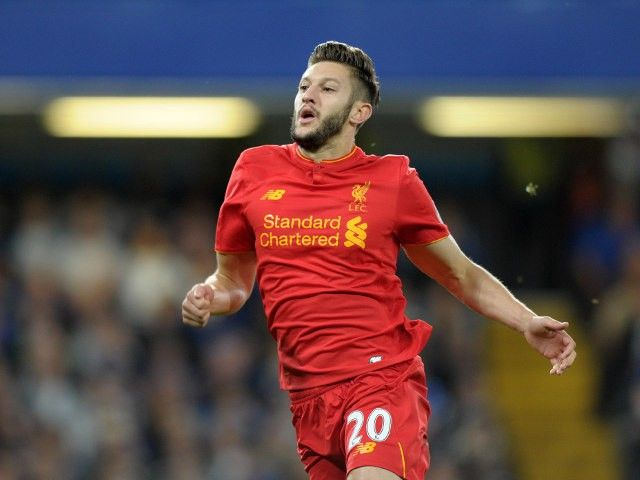 Liverpool 'sweating on fitness of Adam Lallana ahead of Manchester United clash'