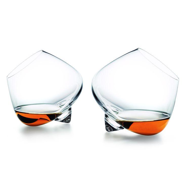 Super cool cognac glasses!
