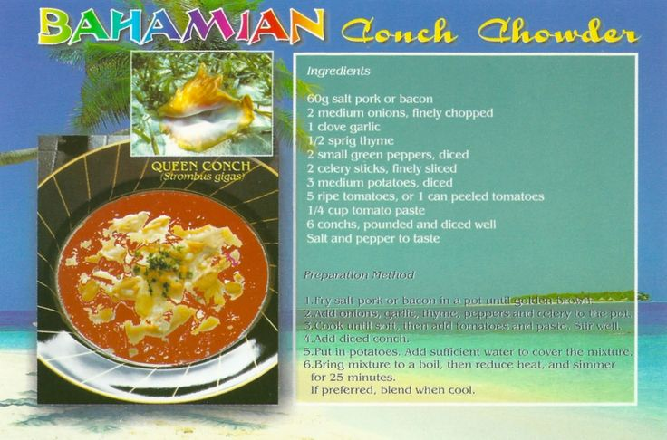 23 best bahamian recipes images on pinterest  bahamian