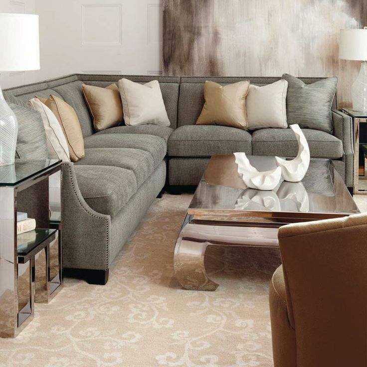 Franco Sectional | Empire Table | Imperial End Table #design #GlenandJamie #furniture