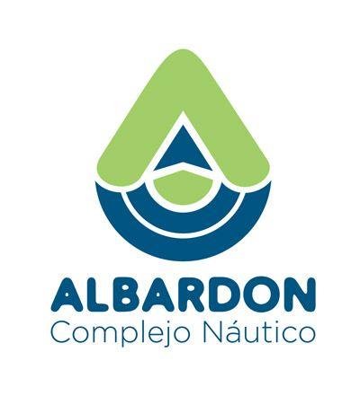 """Nuevo logo, rescatando los valores de trayectoria de nuestra empresa. El verde de la tierra, el azul del agua, el casco y vela de un barco y una """"A"""" de Albardón."""