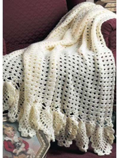 Vintage Lace Afghan I Crochet Intermediate Afghans
