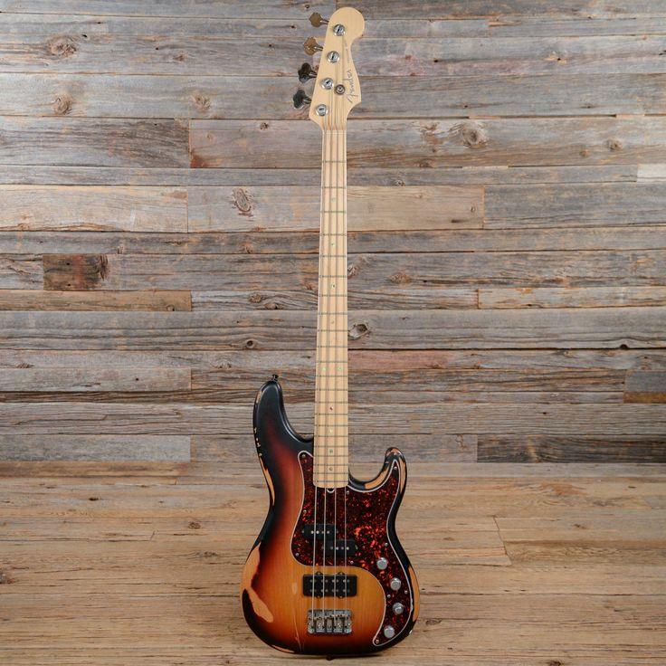 Fender American Deluxe Precision Bass Sunburst 2006 (s303)