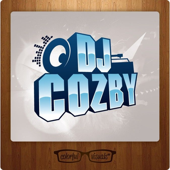 Help DJ Cozby with a sick eye popping dj logo by colorfulvisuals