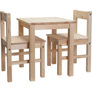 Buy Scandinavia Kids Table and 2 Chairs - Pine £39.99  sc 1 st  Pinterest & 17 best Toddler Group Resource Ideas images on Pinterest | Wood toys ...
