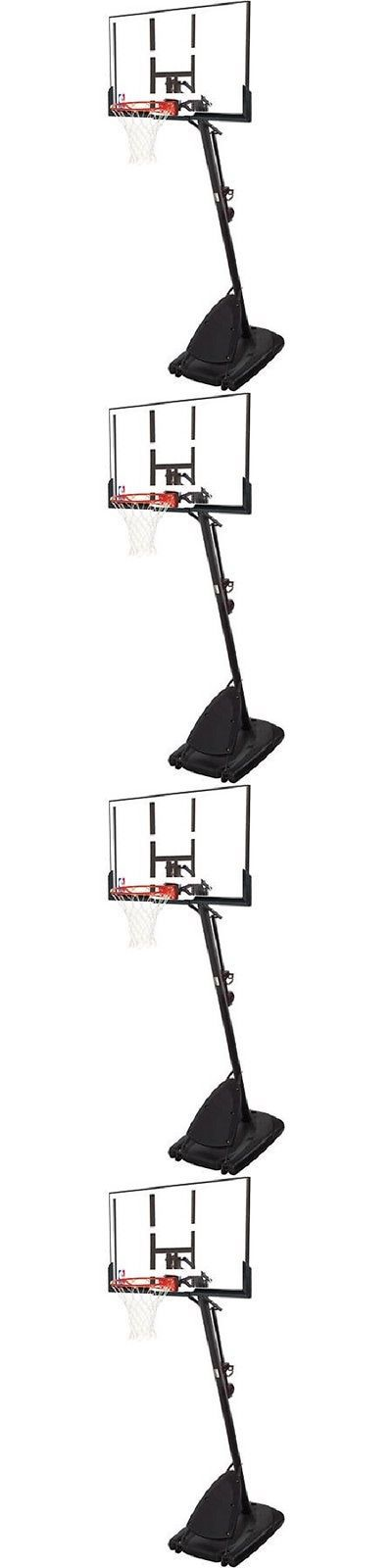 Backboard Systems 21196: Adjustable 54Spalding Hoop Portable Basketball System Backboard Court Net Pole -> BUY IT NOW ONLY: $499.99 on eBay!