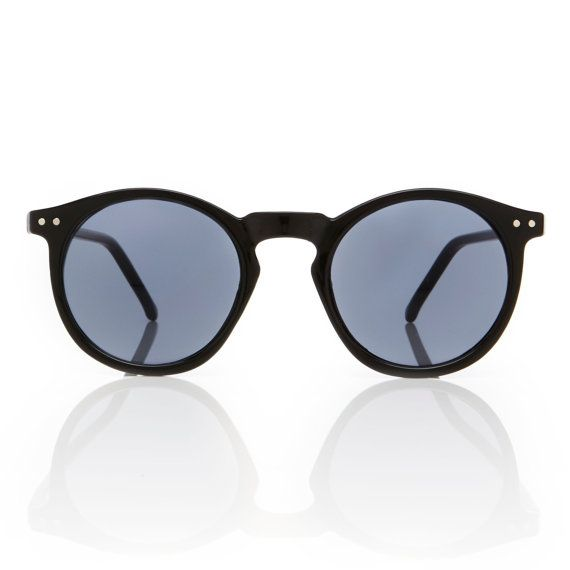 Mens Black Round Frame O'Malley Sunglasses // by AmericanDeadstock, $15.00 DAY 1- DAY 3