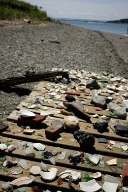 Spectacle Island Sea Glass Beaches – Quincy, Massachusetts | Atlas Obscura
