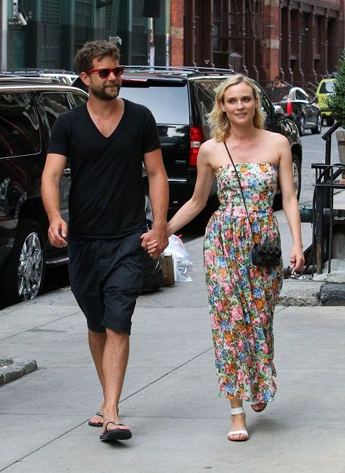 PHOTOS: Diane Kruger fleurt New Yorkse straten op in maxi   I LOVE FASHION NEWS