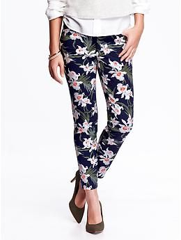 Women's The Pixie Mid-Rise Ankle Pants | Old Navy