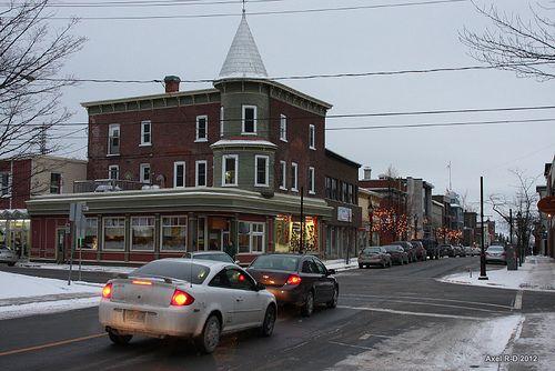 Thetford Mines, Quebec, where Provigo founder Antoine Turmel was born