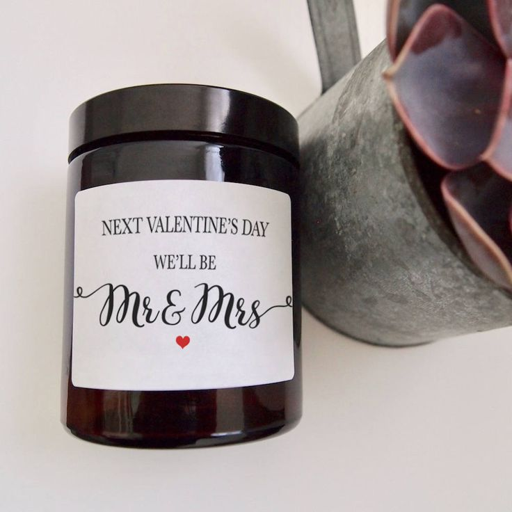 Hands up who's going to be Mr & Mrs next Valentine's Day!