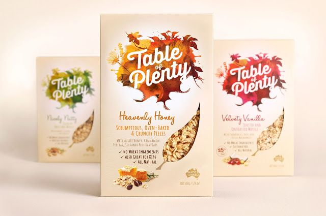 Table of Plenty Muesli on Packaging of the World - Creative Package Design Gallery
