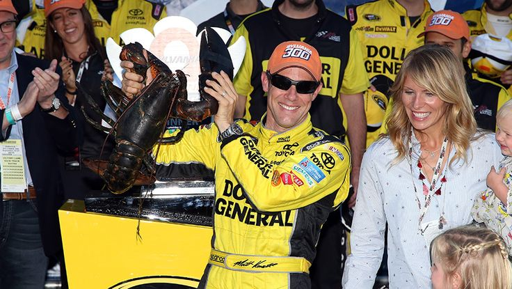 Matt and family at New Hampshire  --  Year in Review: Matt Kenseth | NASCAR.com