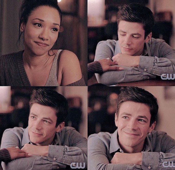 𝓢𝓪𝓻𝓪𝓱 𝓑 𝓘 𝓒𝓾𝓽𝓲𝓮𝓼 On The Flash Grant Gustin