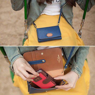 Cross Body Bag Galaxy iPhone Smart Phone Pouch Handbag Card Wallet Special Gift[Navy]                                           Just purchased the very cute smart phone cross body purse. From Happymori via eBay seller Goodseedi.