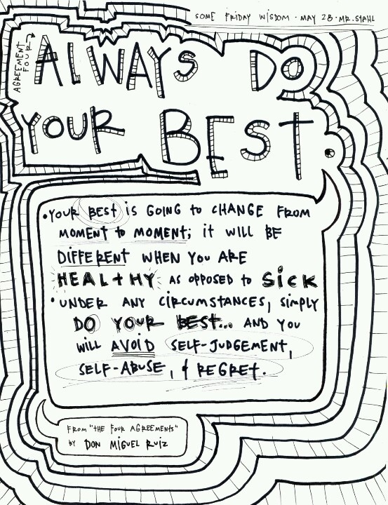 Agreement 4: Always do your best   The Four Agreements