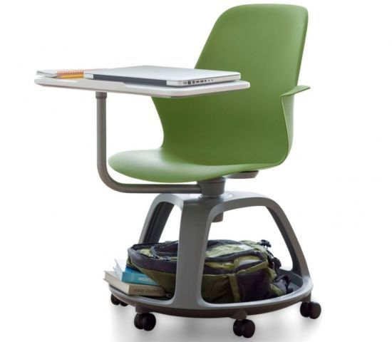 We have these in a couple of classrooms at school, they're pretty sweet. Node chair boosts up learning in contemporary schools