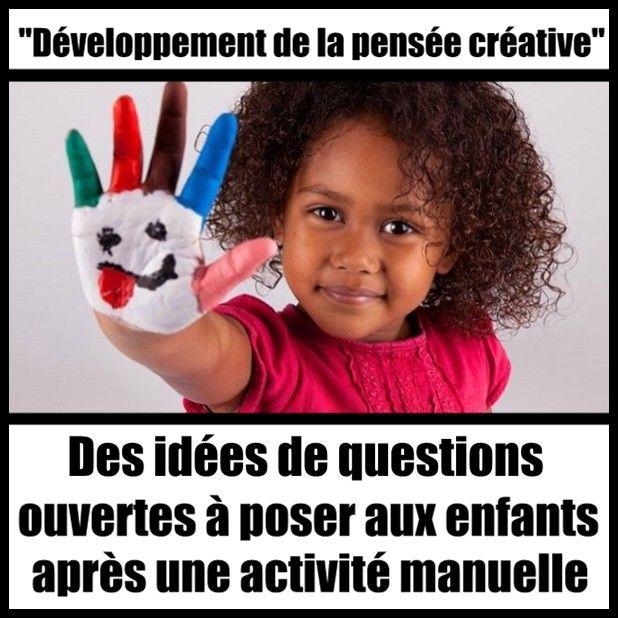 10 questions à poser aux enfants après un atelier créatif !
