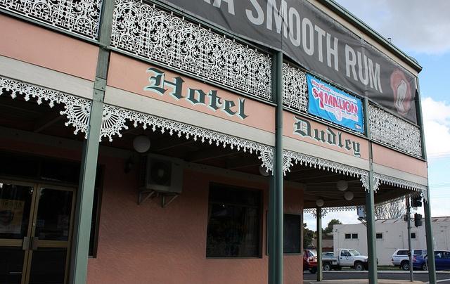 Hotel Dudley, Bathurst, NSW.