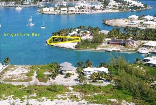 NEW PRICE! Landscaped Harbourfront Lot 41, Block 199, Treasure Cay, Abaco, Bahamas