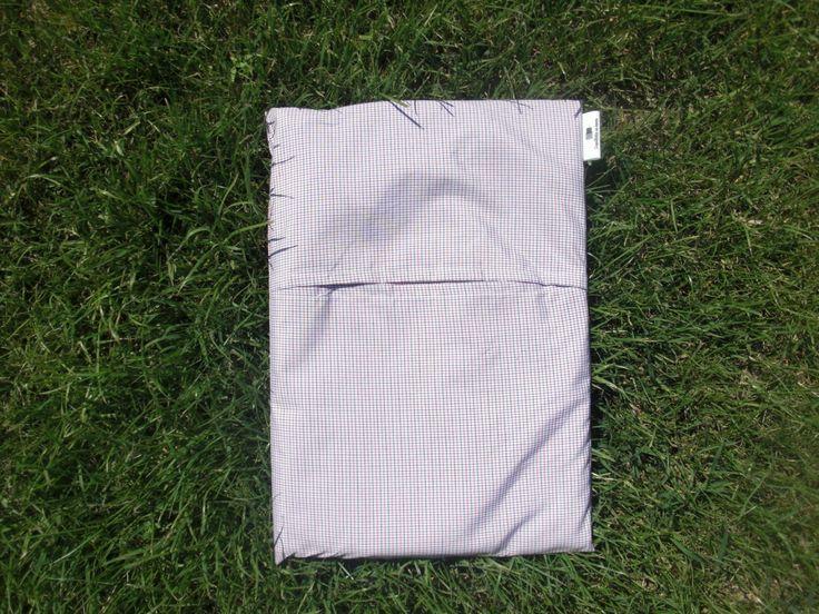 sac de couchage en coton léger, carreaux bleus/rouges : Linge de lit enfants par coquillettes-au-beurre