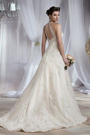 Jasmine Couture style T182064 (back view)