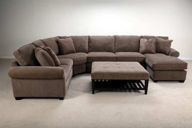 U09a stationary sectional with right facing chaise by for Bauhaus chaise lounge