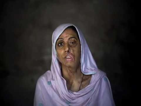 Mulheres maltratadas em nome da lei islâmica (Sharia).
