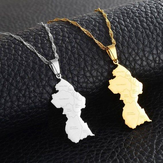 Gold-plated earrings Guyana