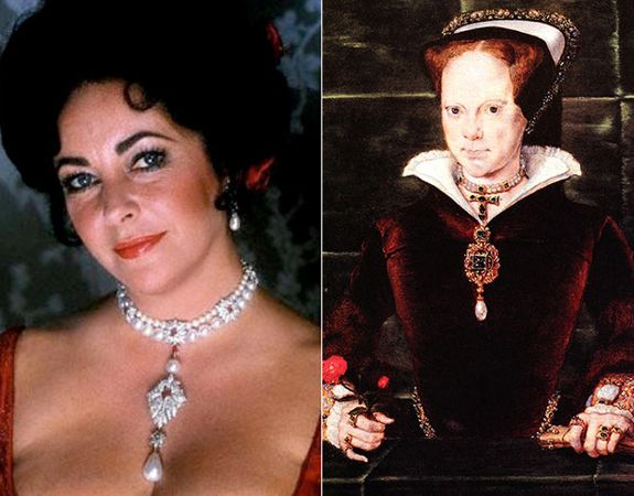 La Peregrina Pearl Once Owned By Mary Queen Of Scots In
