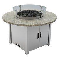 65,000 BTU Granite-Top Liquid Propane Fire Pit Table