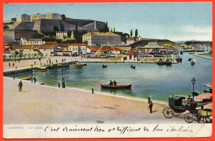 #6412 Greece 1908. Corfu – Kerkyra. Old postcard | eBay
