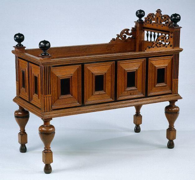 Antique Dutch Crib for the
