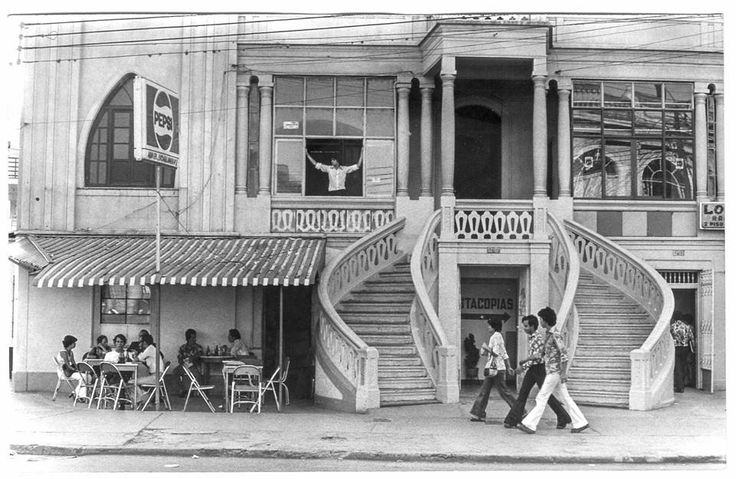 Cali años 70. Avenida sexta.