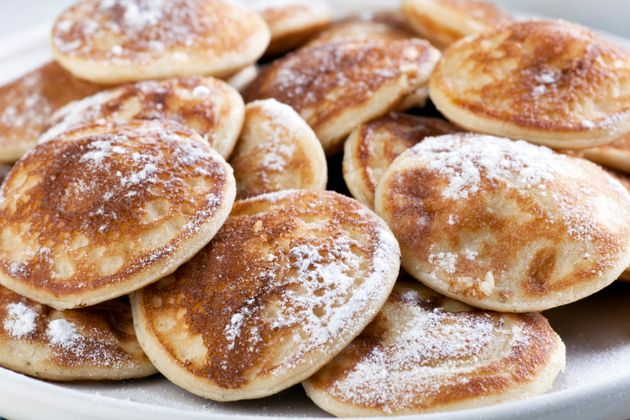 Los poffertjes o panqueques holandeses
