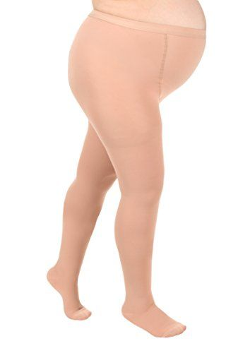 Opaque Maternity Compression Stockings - Firm Support 20-30mmHg, Maternity Compression Pantyhose - Size, Medium, Color Beige - Absolute Support - Sku A208  Surgical Opaque Maternity Pantyhose 20 to 30mmHg Closed Toe  Made of a durable Opaque material Out of 78 percent Nylon or 22 percent Lycra Spandex Designed to help relieve moderate conditions associated with poor circulation that may appear during the 2nd and 3rd trimesters  Size chart provided above Pre pregnancy weight US Size Sma...