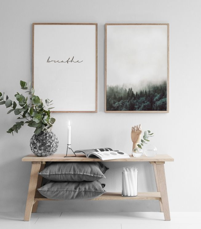 Scandinavian Interior Design Idea For Hallway With Bench And Simple Pictures Pictures Diy Bench Design Diy Hallway Idea Inte
