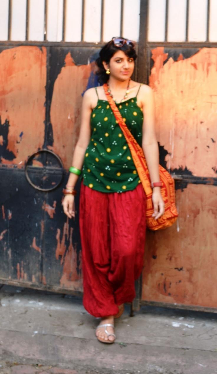 I want dhoti pants!