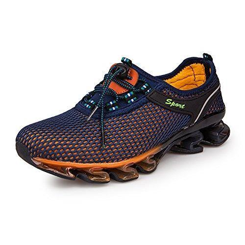 Oferta: 29.99€. Comprar Ofertas de KuBua Zapatillas Hombre Malla Zapatos para Correr Zapatillas de Deporte Casuales Running Padel Marrón Azul Gris 39-46 Marrón barato. ¡Mira las ofertas!