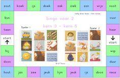 jufthirza.nl Bingo voor 2 veilig leren lezen kim-versie kern 3 tot kern 5