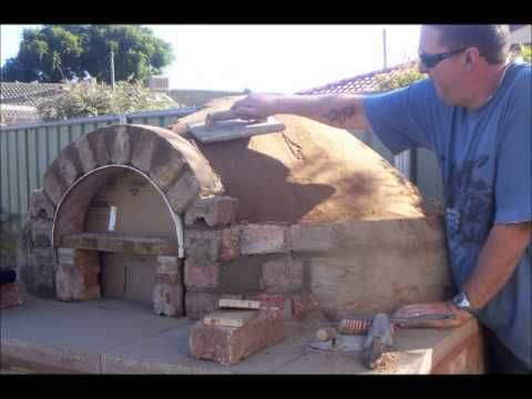 how to build a stone bake pizza oven