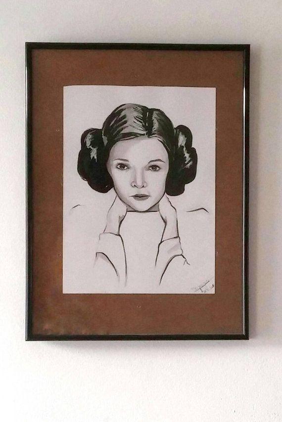 Carrie Fischer / Princess Leia  / Star Wars tribute / rip our princess in the stars #starwars #princessleia #leia #r2d2
