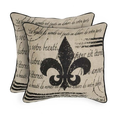 I pinned this Fluer de Li Pillow Cover - Set of 2 from the Classic Rugs & Pillows from $30 event at Joss and Main!