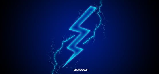 Blue Lightning Poster Banner Motion Modern Curve Line Backdrop Digital Shape Pattern Laser Decoration Art Graphic Li Blue Lightning Photoshop Design Fire Image