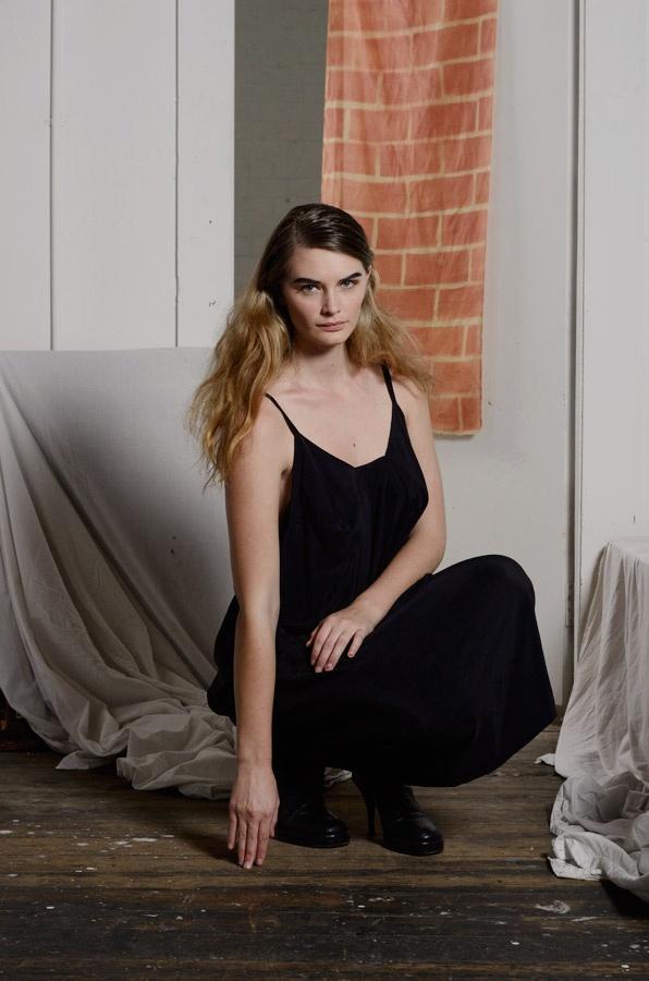 Whimsical Dress in black