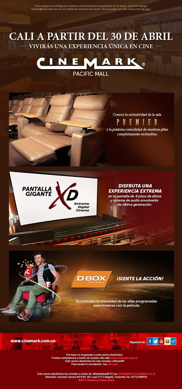 Lanzamiento salas de #Cine en #Cali