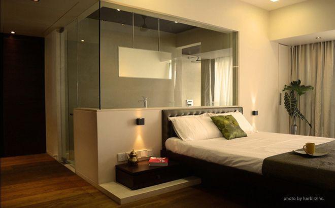 Bedroom.Studio Apartment.Mumbai